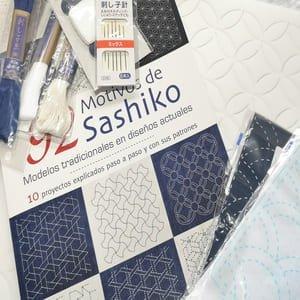 Materiales para sashiko