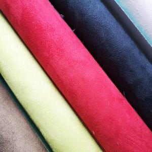 Antelinas de colores reversibles