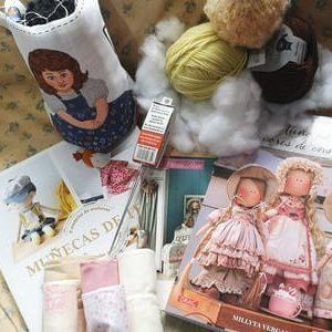 Materiales para hacer muñecos