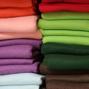 Fieltros de diferentes colores