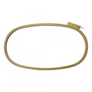 Bastidor ovalado de madera para acolchar 50 cm x ancho 30 mm