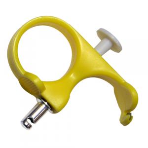 Estirador de agujas de color amarillo