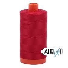 AURIFIL-2250 Rojo (100% algodón)1300 metros