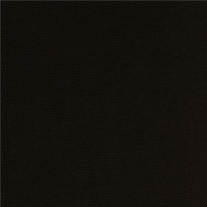Tela lisa color negro de 1.50