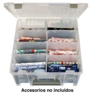 Caja de accesorios para hilos y otros materiales