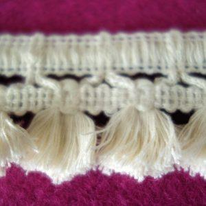 Flecos blancos de 10 cm