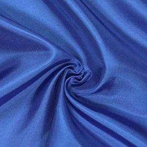 Tela para forro color azul medio de 1.50 cm