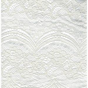 Tela de encaje en color beige con orilla a ambos lados (1.50 )