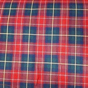 Cuadros escoceses en rojos de 1,45 de ancho