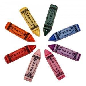 Botones de lapices de colores