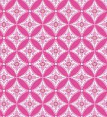 Tela de Jersey de lunares blancos sobre rosa de gütermann