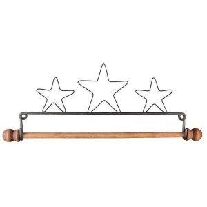 Percha-colgador de tres estrellas (55.90 cm)