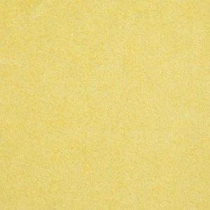 Tela de rizo o felpa de color amarillo claro ( 1,50)