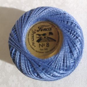 Hilo azulón .Algodon Finca-nº8