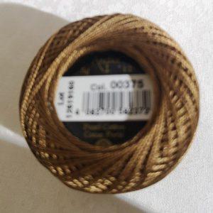 Hilo color marrón medio tipo perle ANCHOR