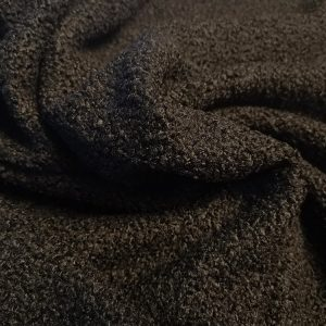 Tela de rizo de punto en color hueso