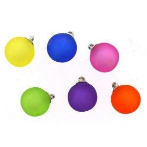 Botones de colores en forma de flor