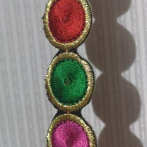 Cinta fantasia multicolor de 2 cm