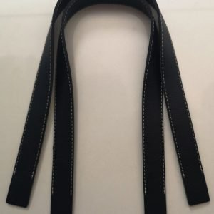 Asas de cuero negras 40cm