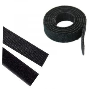 Velcro blanco zona rígida de coser