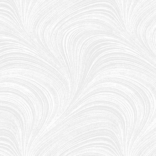Tela trasera color blanca con ondas