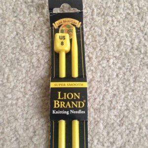 Aguja de ganchillo de marca Lion branddel nº 5