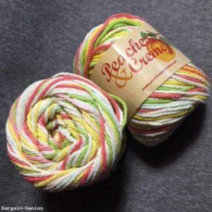 Hilo acrílico multicolor para punto y ganchillo.Berroco