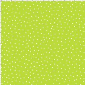 Lunares blancos sobre verde pistacho de QuiltingTreasures