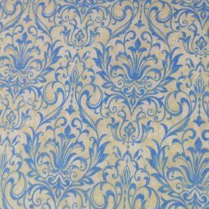 tela de mandalas en azules