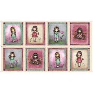 Panel de la gorjuss en ocho imágenes.My story by santoro