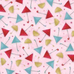 Corazones blanco sobre rosa de la nueva kori kumi .El regalo de la amistad