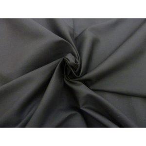Tela negra de algodón hidrofugo y antibacteriano . TECNOSANI