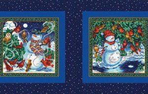 Panel de los tres reyes magos de Quilting treasures