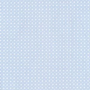 Tela e ovejitas sobre azul (Ancho 1.50)