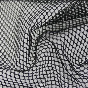 Rejilla, Malla o tela mesh color negro de poliéster