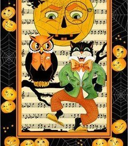 Panel de 6 cuadros de Halloween