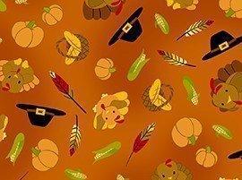 Tela de calabazas de Halloween