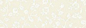 Tela de fondo de cuadritos en marfil (18656)