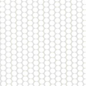 Estrellas grises grandes sobre blanco(Ancho 1,50)
