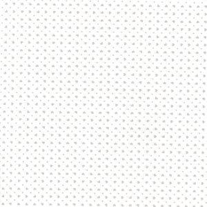 Corazones blancos sobre gris (Ancho 1,50)