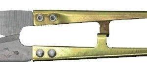 Descosedor-cortahilos negro de metal