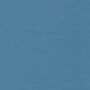 Tela lisa color azul cerámica de 1.50 de ancho