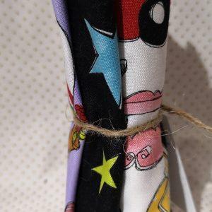 Pack de restos de telas navideñas (Unos 30cm aprox.)