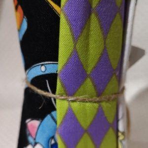 Pack de restos de telas de colores de Loralie Harris (Unos 25cm aprox.)
