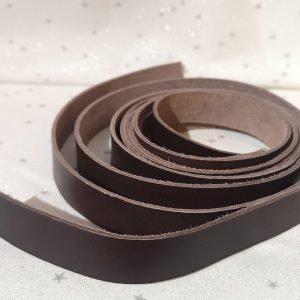 2 asas de bolso de 2 cm color cuero natural (60 cm largo)