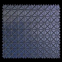 Polipiel gris métalizado en cuadros