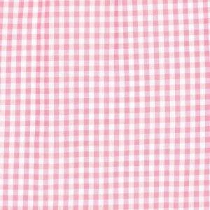 Tela de corazones blancos sobre rosa (Ancho 1,50)