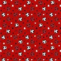 Tela de balones de fútbol en blanco y negro (1.50)