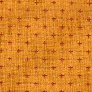 Tela japonesa amarilla con cruces