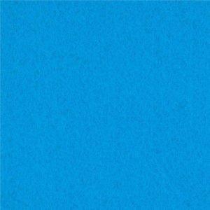 Fieltro de color azul azafata (90x50 cm)